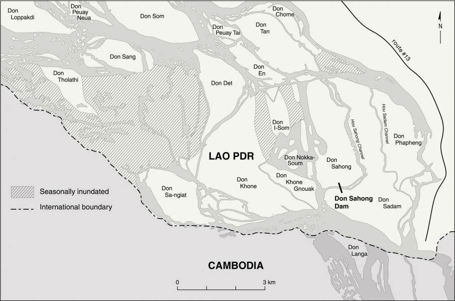 Don Sahong Map